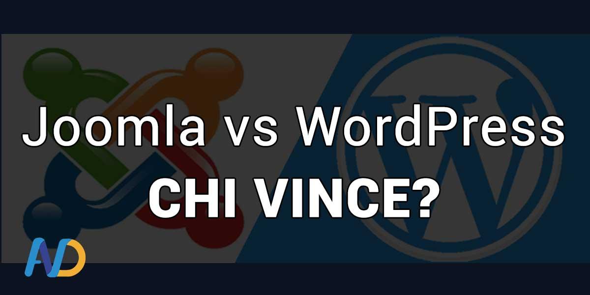 Vantaggi e Svantaggi di Joomla e WordPress