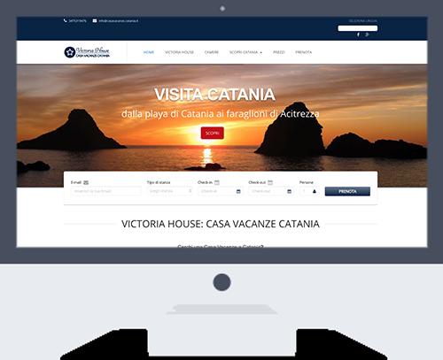 casavacanze catania portfolio - Victoria House