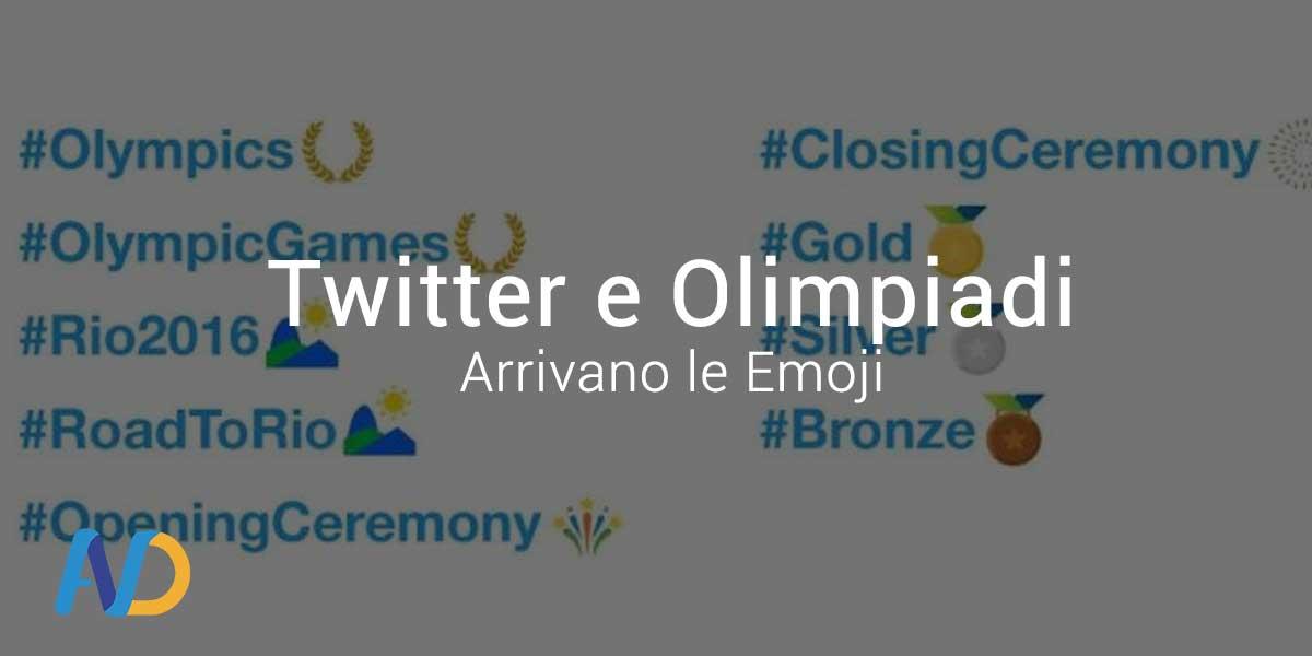 Twitter lancia le Olympic Emoji
