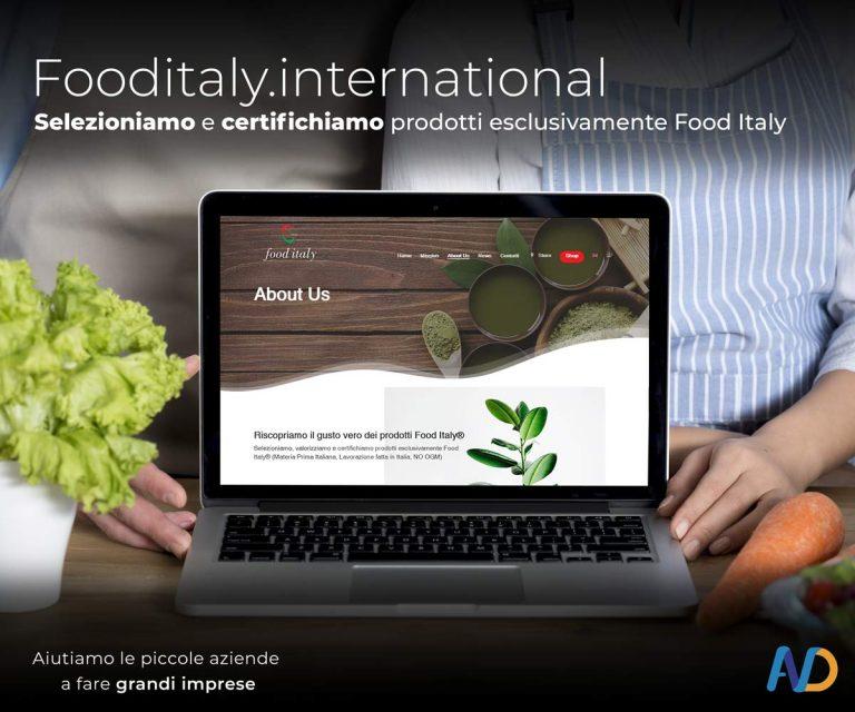 Immagini Presentazione Food Italy Istituzionale Copertina