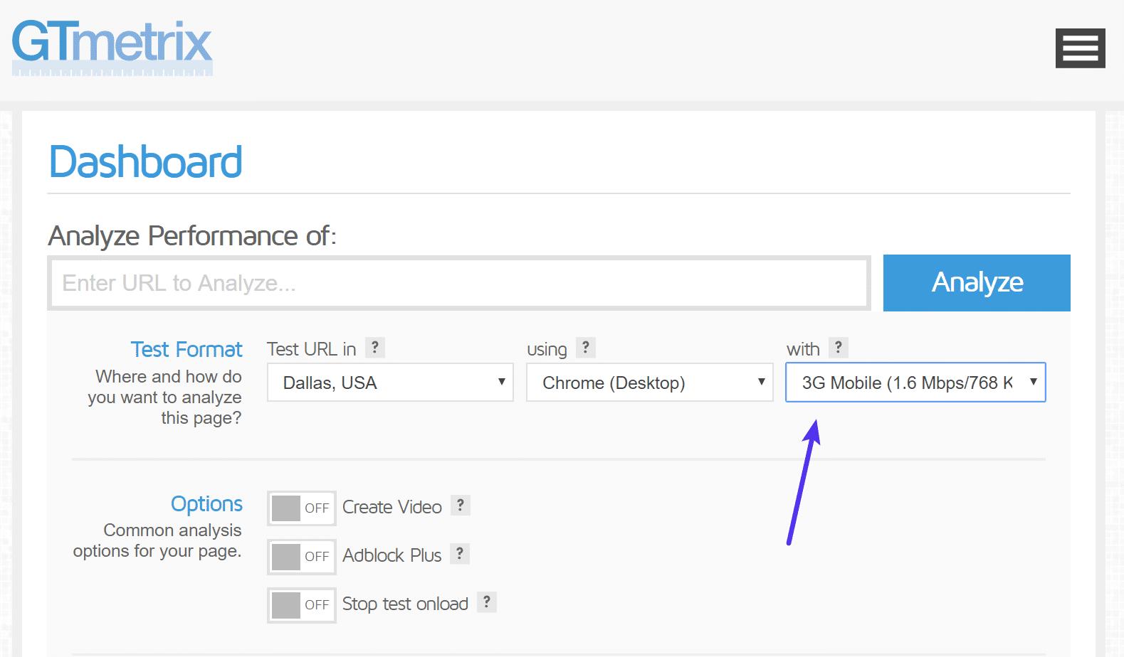 Gtmetrix Test Velocità