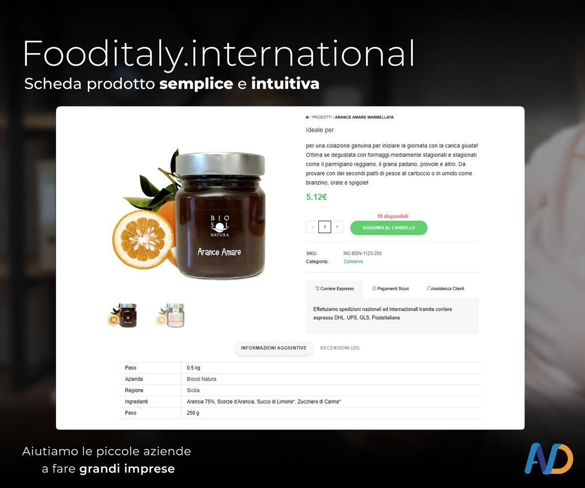 Immagini Presentazione Food Italy Shop Scheda Prodotto