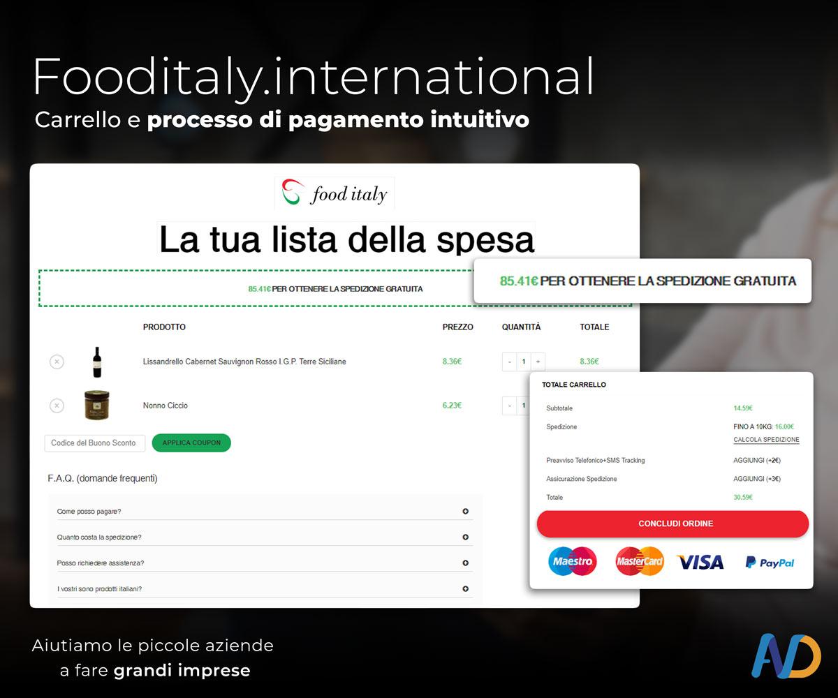 Immagini Presentazione Food Italy Carrello