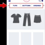 Menù di Navigazione per Siti E-commerce