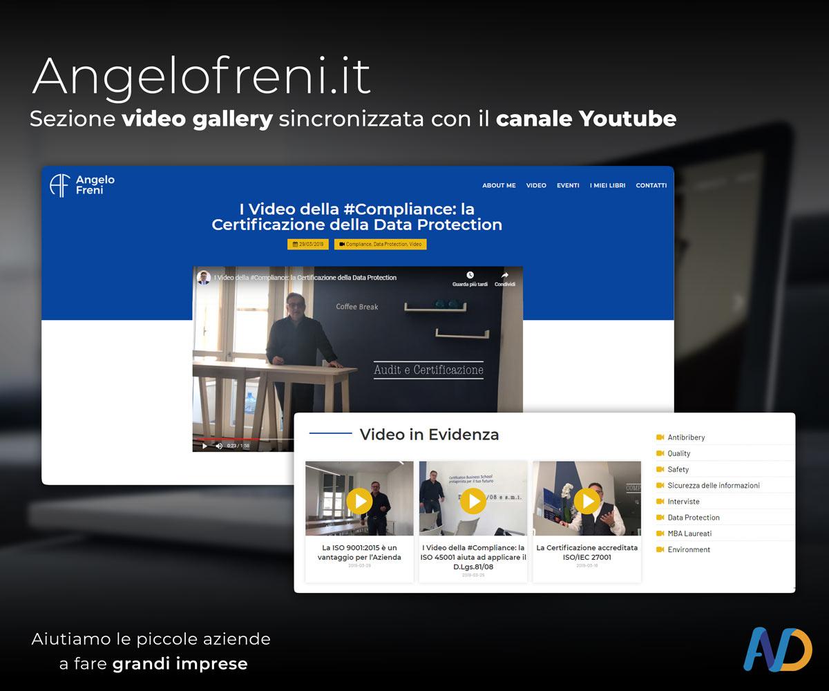 Immagini Presentazione Angelo Freni   Video Gallery