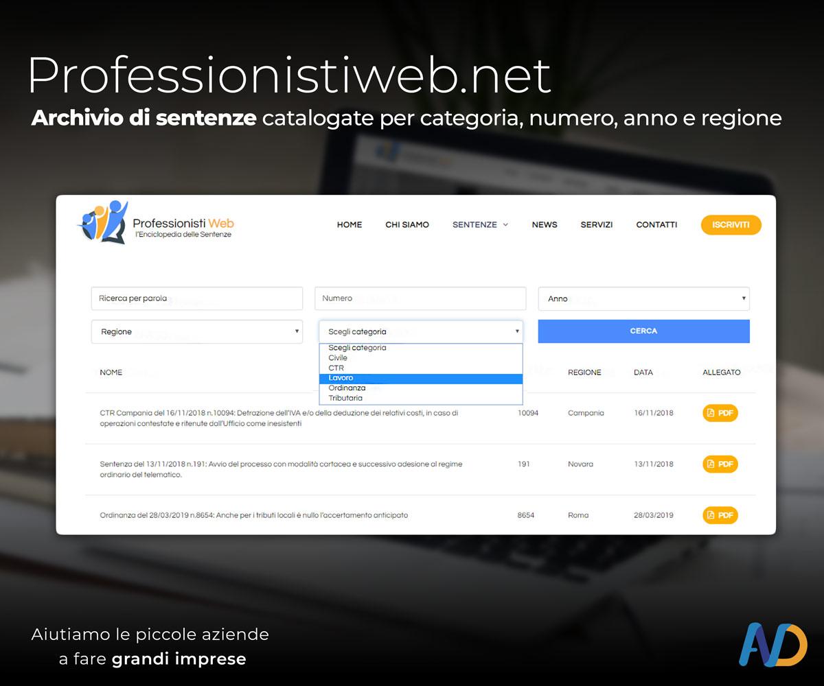 Immagini Presentazione Professionisti Web Archivio Sentenze