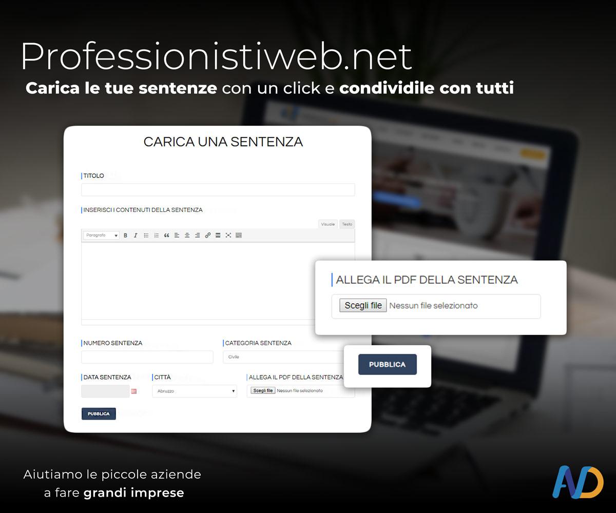 Immagini Presentazione Professionisti Web Caricare Una Sentenza