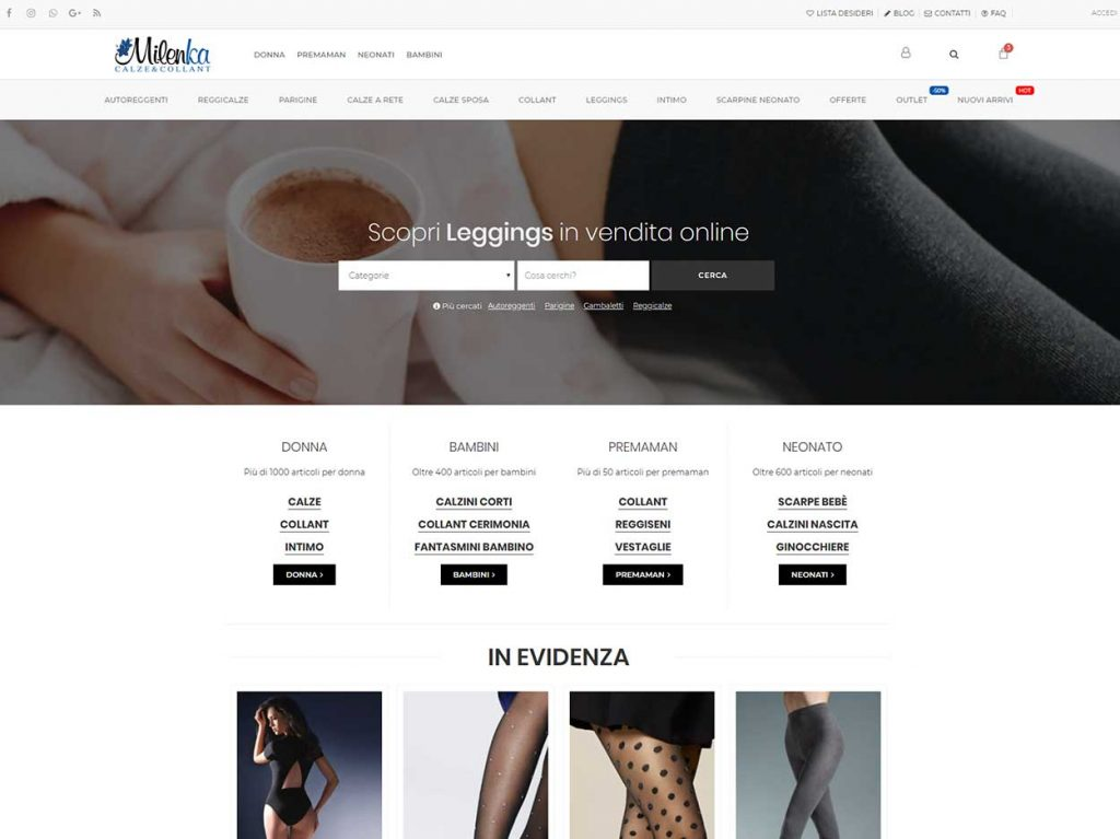 Seo Ecommerce Abbigliamento