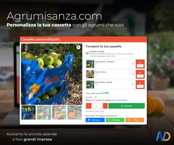 Agrumi Sanza Cassetta Personalizzata