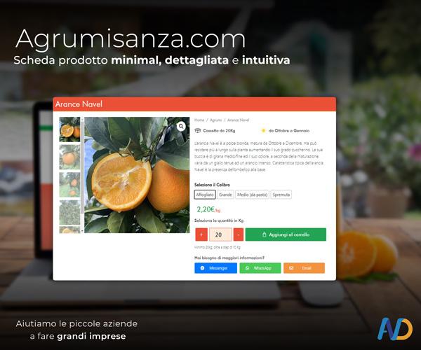 Agrumi Sanza Scheda Prodotto
