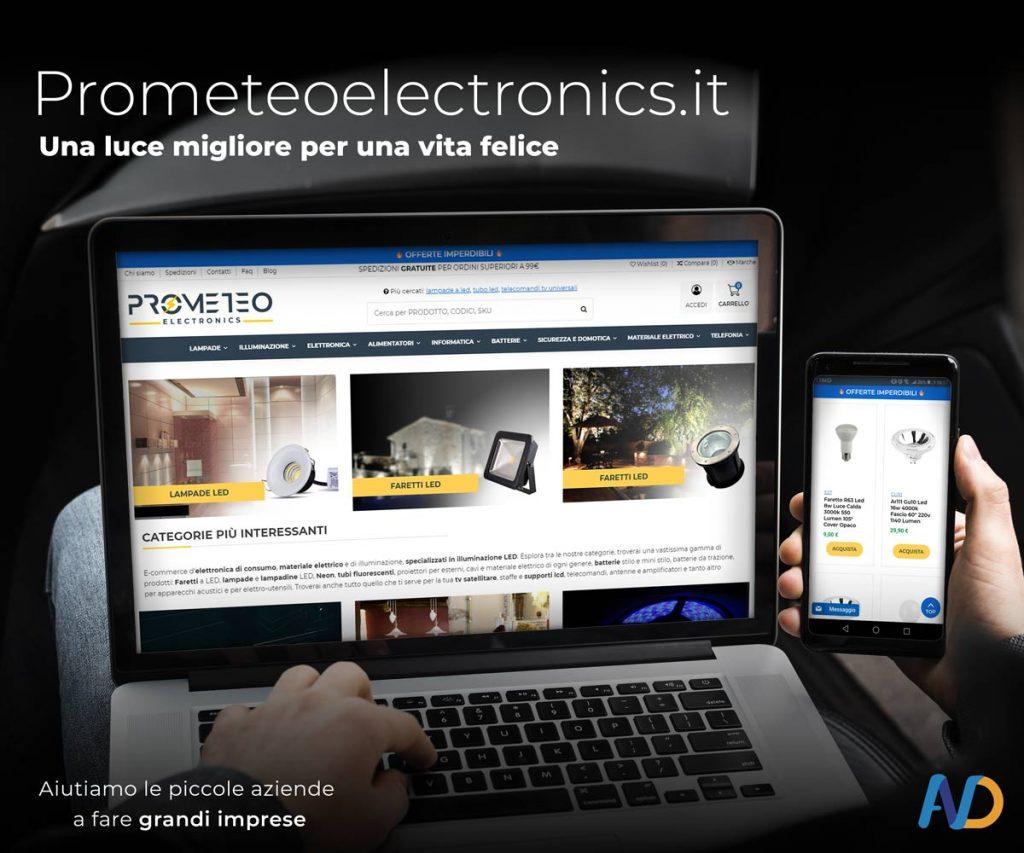 Prometeo Electronics Immagine Di Presentazione