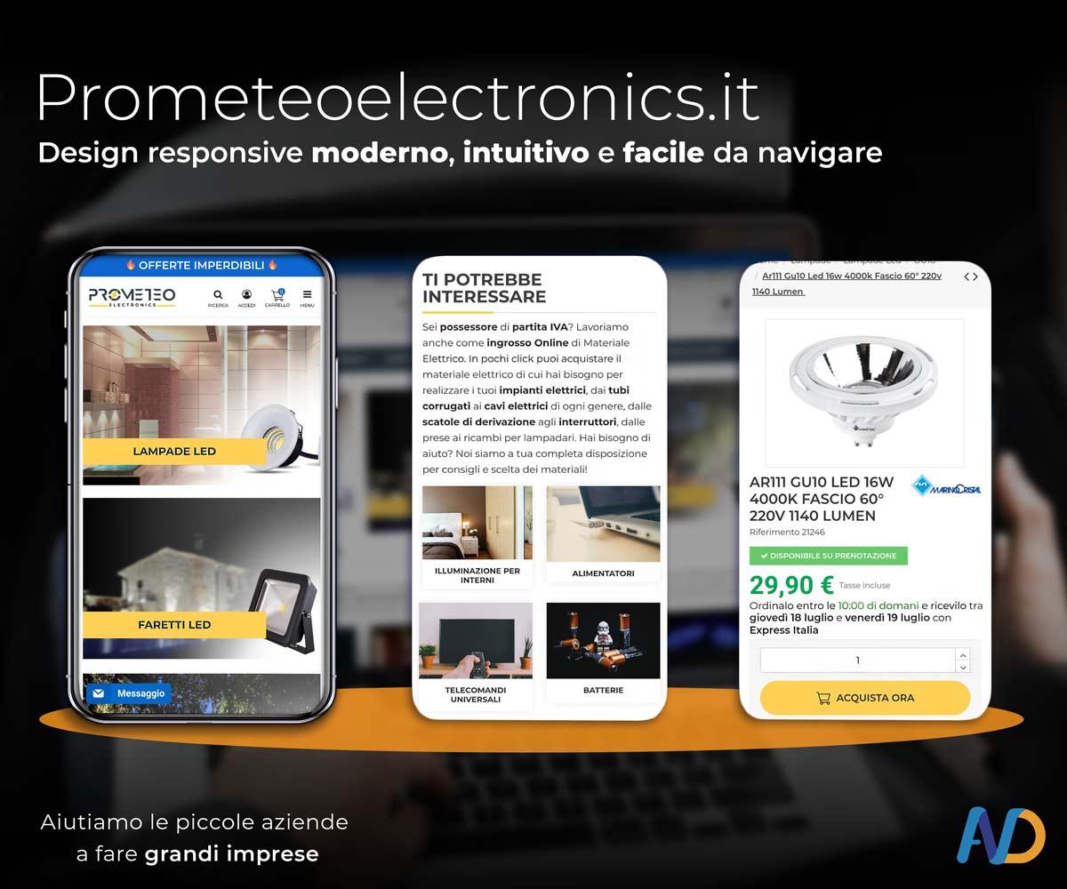Prometeo Electronicsi Design Responsile