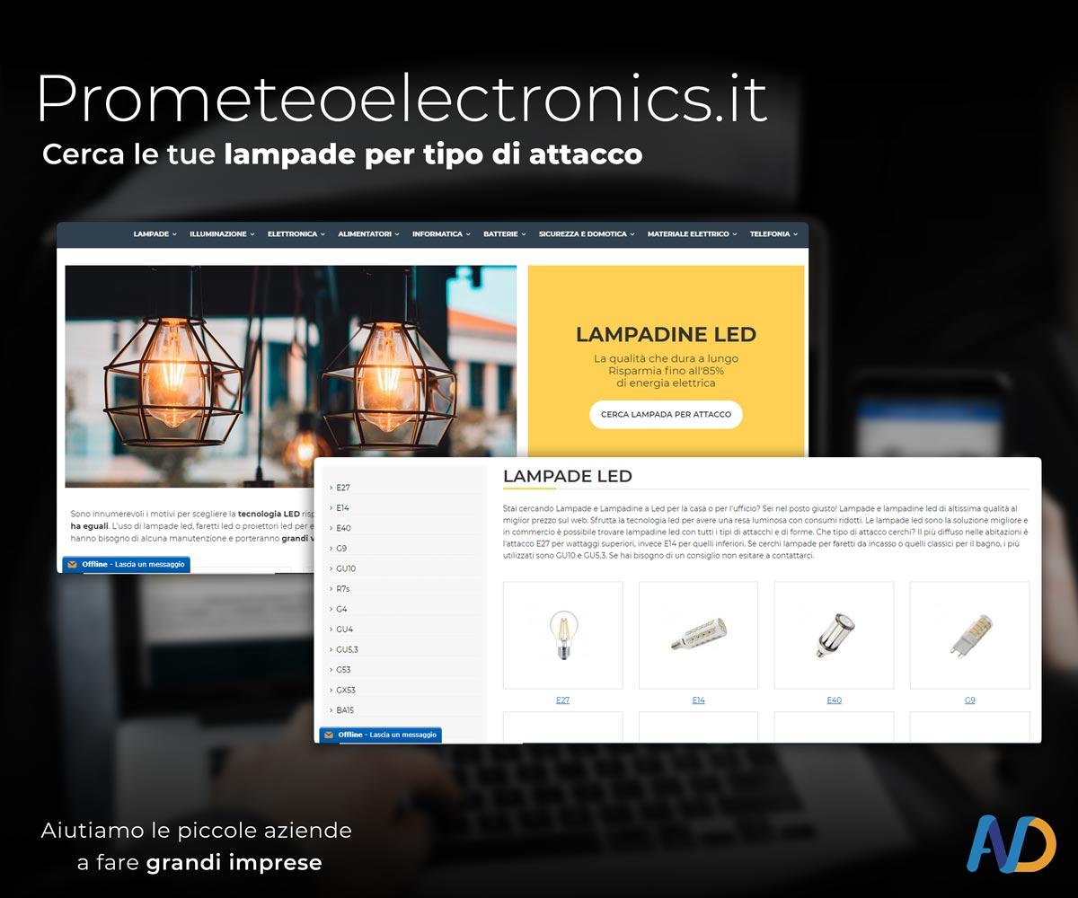 Prometeo Electronicsi Installazione Modulo Ricerca Lampadine Per Attacco